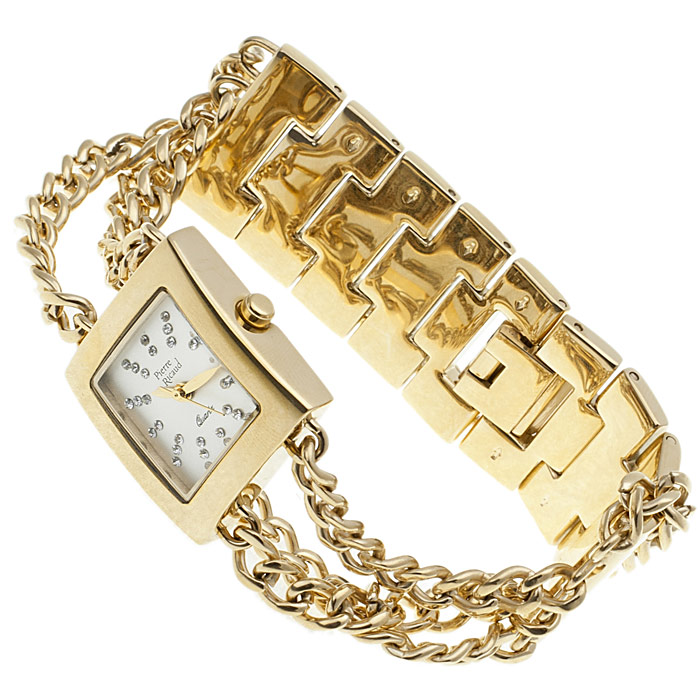 zegarek Pierre Ricaud P4194.1113Q złoty Bransoleta