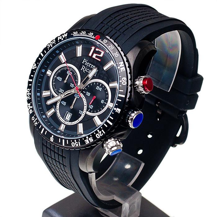 zegarek Pierre Ricaud P45790.5254CH męski z chronograf Pasek