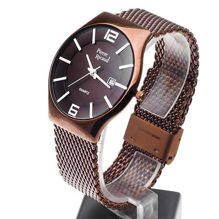 Pierre Ricaud P91060.015GQ męski zegarek Bransoleta bransoleta