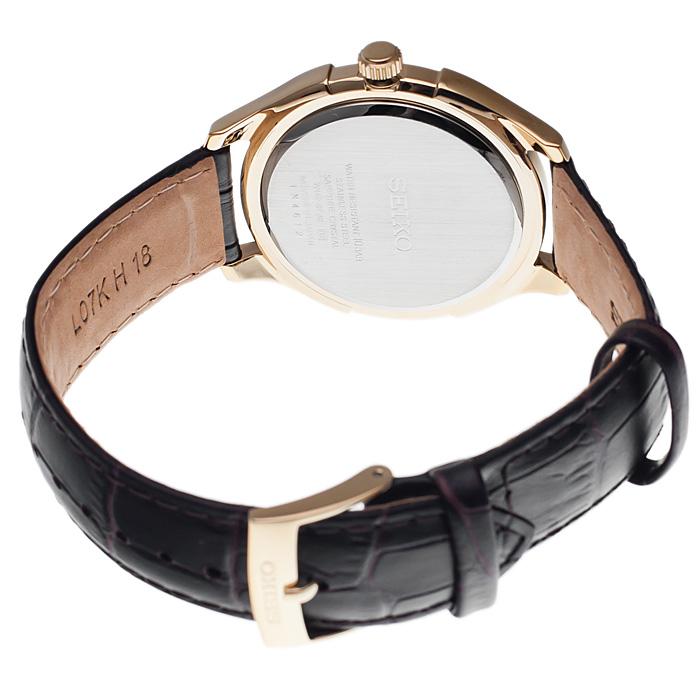 Seiko SGEF72P1 Classic zegarek męski klasyczny szafirowe
