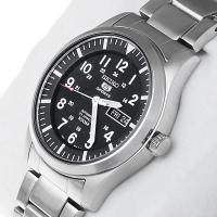 Zegarek męski Seiko automatic SNZG13K1 - duże 7