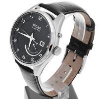 Seiko SRN051P1 męski zegarek Kinetic pasek