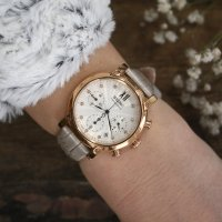 Zegarek damski Seiko chronograph SRW834P1 - duże 4