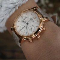 Zegarek damski Seiko chronograph SRW834P1 - duże 5