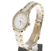 Seiko SRZ398P1 damski zegarek Classic bransoleta