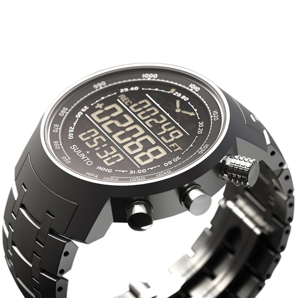 zegarek Suunto SS014521000 Suunto Elementum Terra Steel męski z barometr Outdoor
