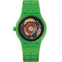 Zegarek unisex Swatch  originals sistem 51 SUTG401 - duże 2