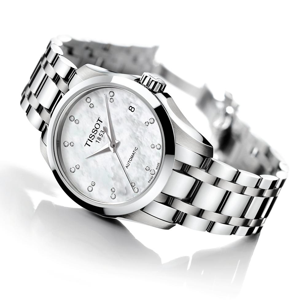 Tissot T035.207.11.116.00 zegarek damski Couturier