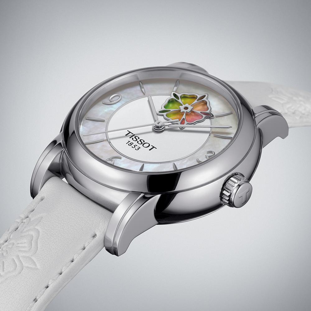 Tissot T050.207.17.117.05 damski zegarek Lady Heart pasek