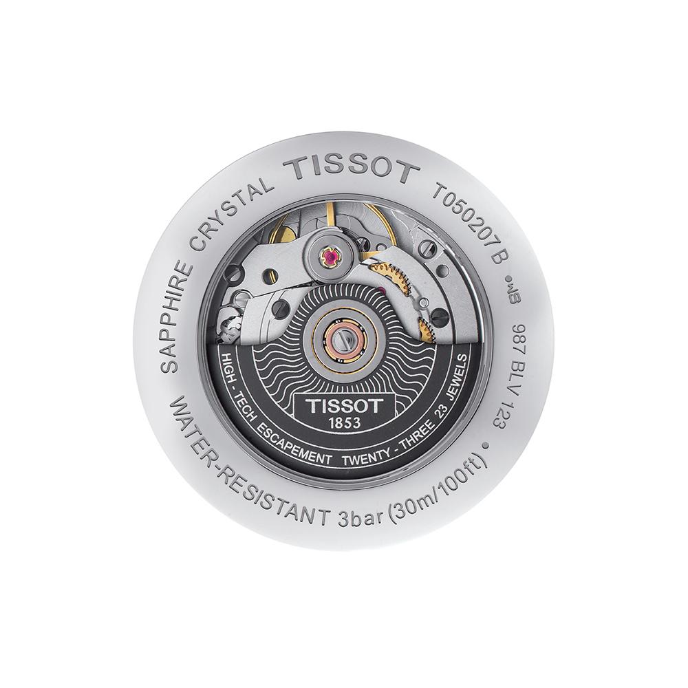 zegarek Tissot T050.207.17.117.05 srebrny Lady Heart