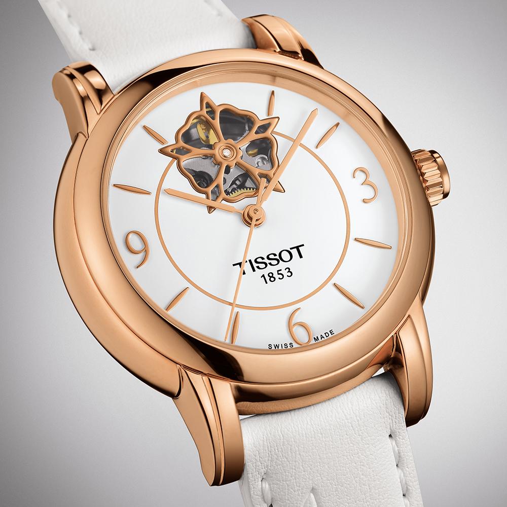 Tissot T050.207.37.017.04 damski zegarek Lady Heart pasek
