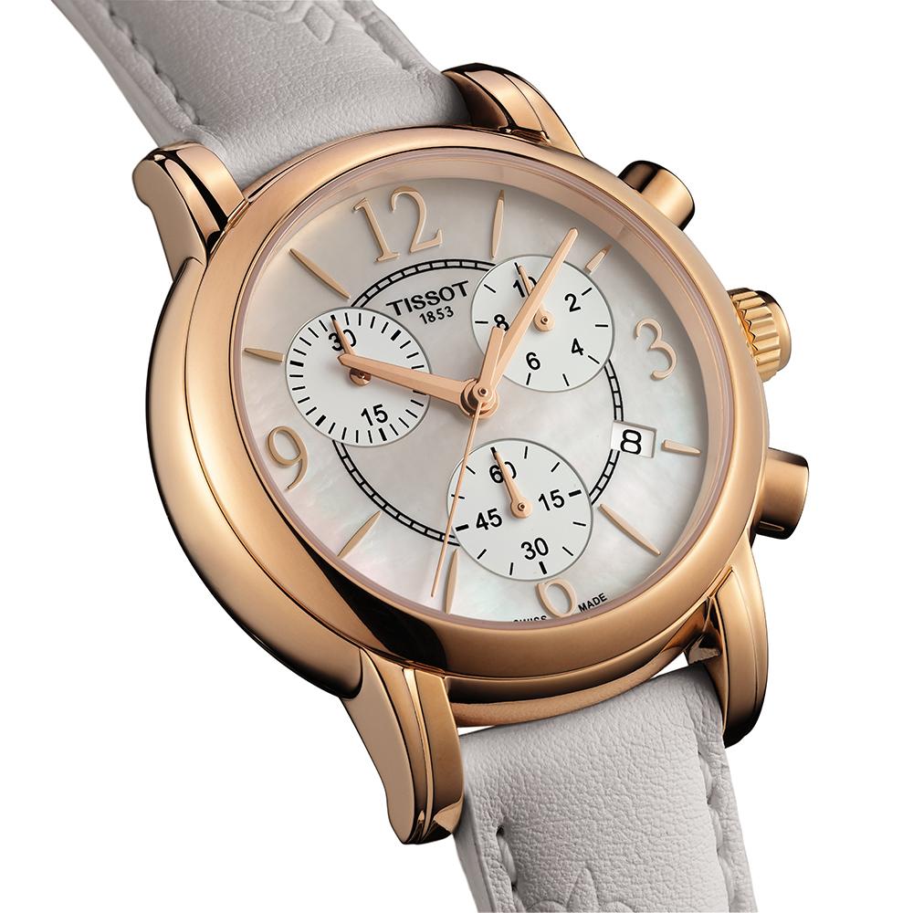 zegarek Tissot T050.217.37.117.00 DRESSPORT damski z chronograf Dressport