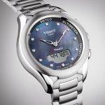 zegarek Tissot T075.220.11.106.01 srebrny T-TOUCH LADY SOLAR