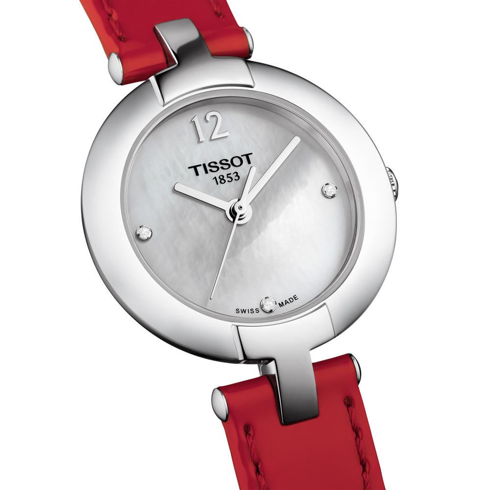 Tissot T084.210.16.116.00 damski zegarek Pinky by Tissot pasek