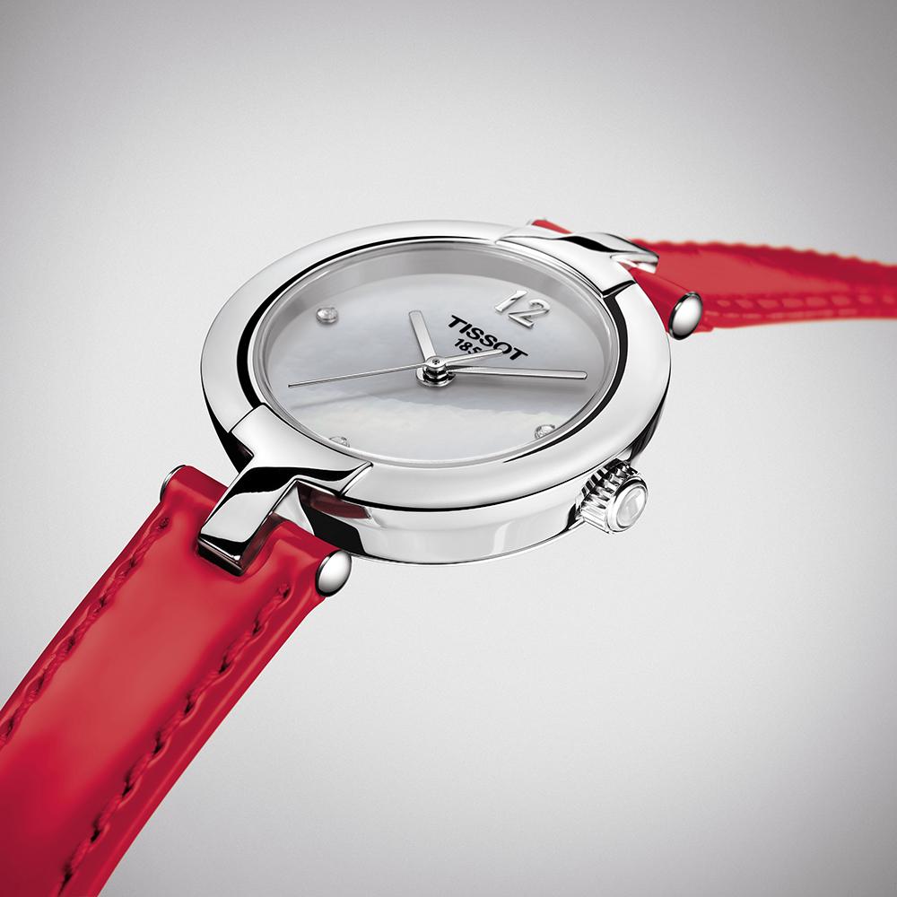zegarek Tissot T084.210.16.116.00 srebrny Pinky by Tissot