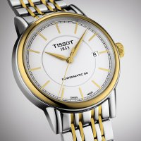Tissot T085.407.22.011.00 męski zegarek CARSON AUTOMATIC bransoleta