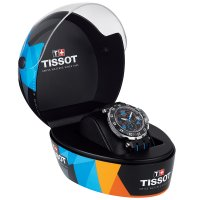 zegarek Tissot T092.417.27.207.01 T-RACE QUARTZ CHRONO TITO męski z tachometr T-Race