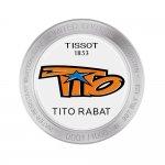 zegarek Tissot T092.417.27.207.01 srebrny T-Race