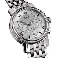 zegarek Tissot T097.427.11.033.00 BRIDGEPORT AUTOMATIC CHRONOGRAPH VALJOUX męski z chronograf Bridgeport