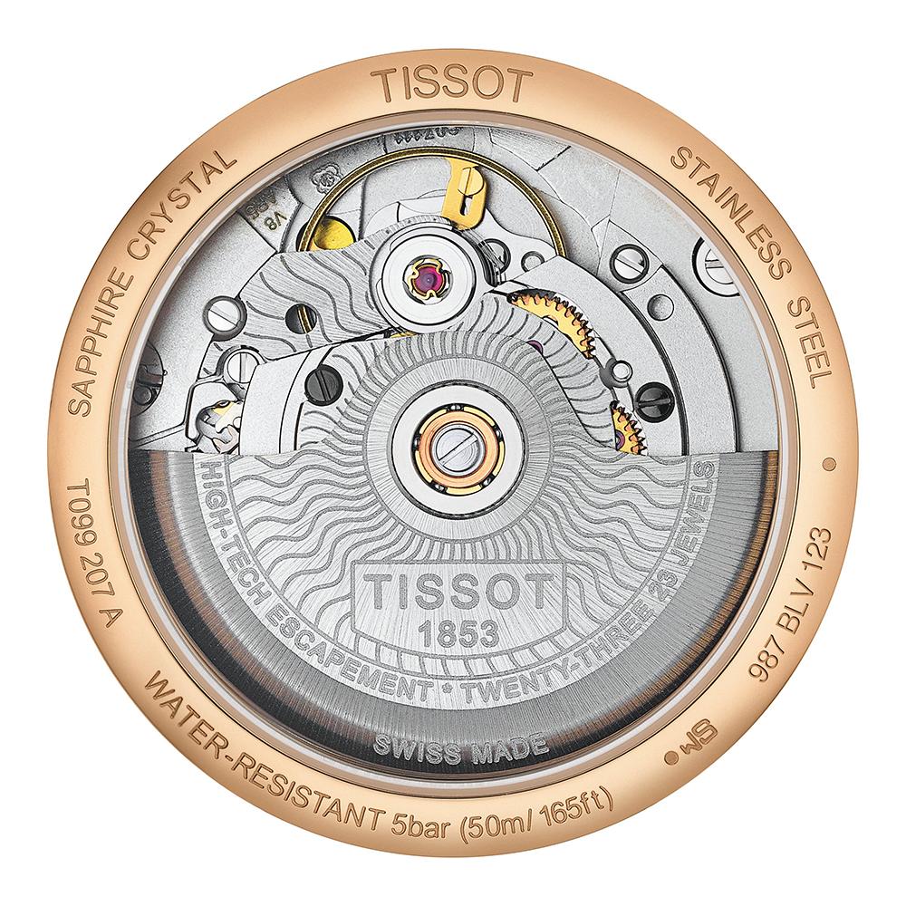 Tissot T099.207.36.118.00 zegarek damski Chemin des Tourelles