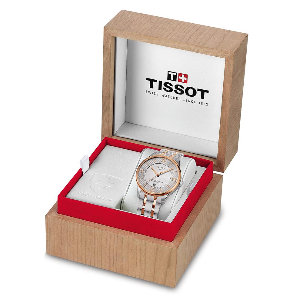 zegarek Tissot T099.407.22.038.01 srebrny Chemin des Tourelles