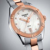 Tissot T101.910.22.116.00 damski zegarek PR 100 bransoleta