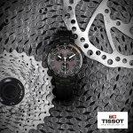 zegarek Tissot T111.417.37.441.09 czarny T-Race
