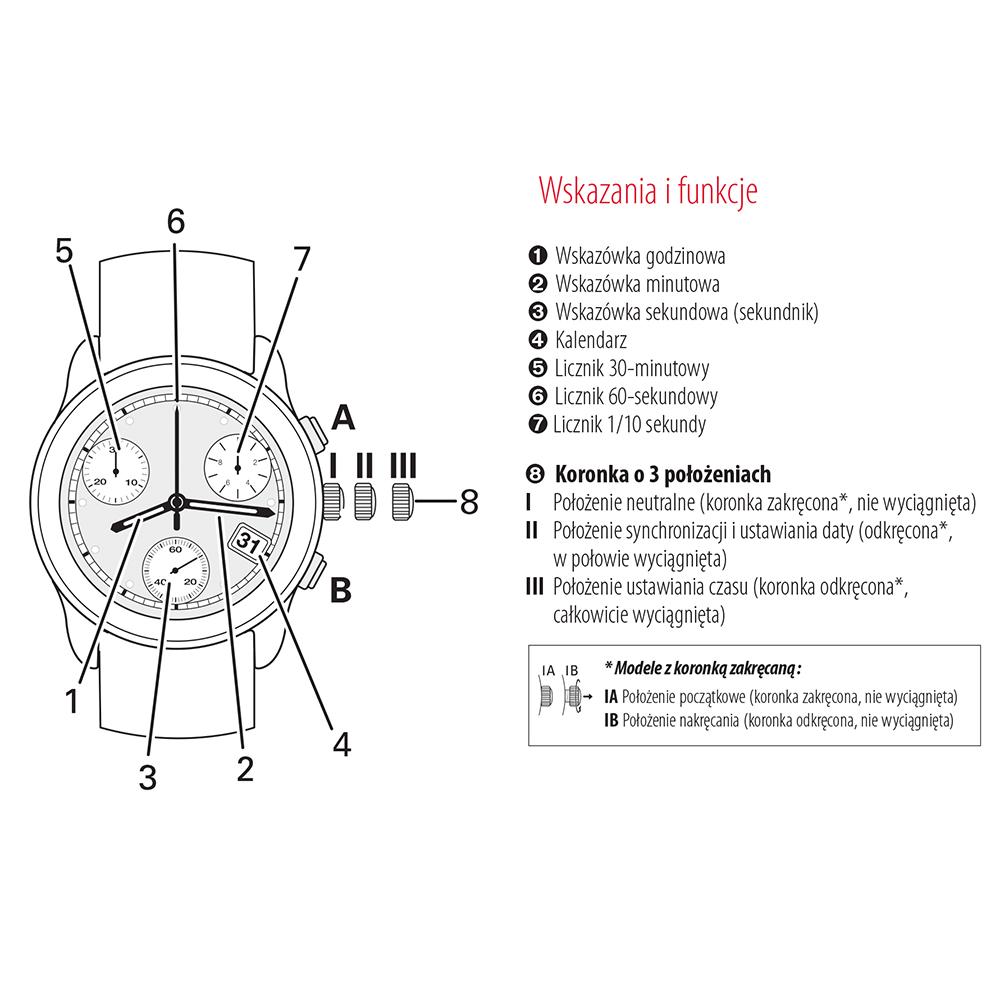 zegarek Tissot T116.617.36.097.00 CHRONO XL męski z chronograf Chrono XL