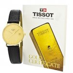 zegarek Tissot T71.2.411.21 złoty Goldrun
