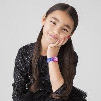 Timex T89001 zegarek różowy klasyczny Dla dzieci pasek