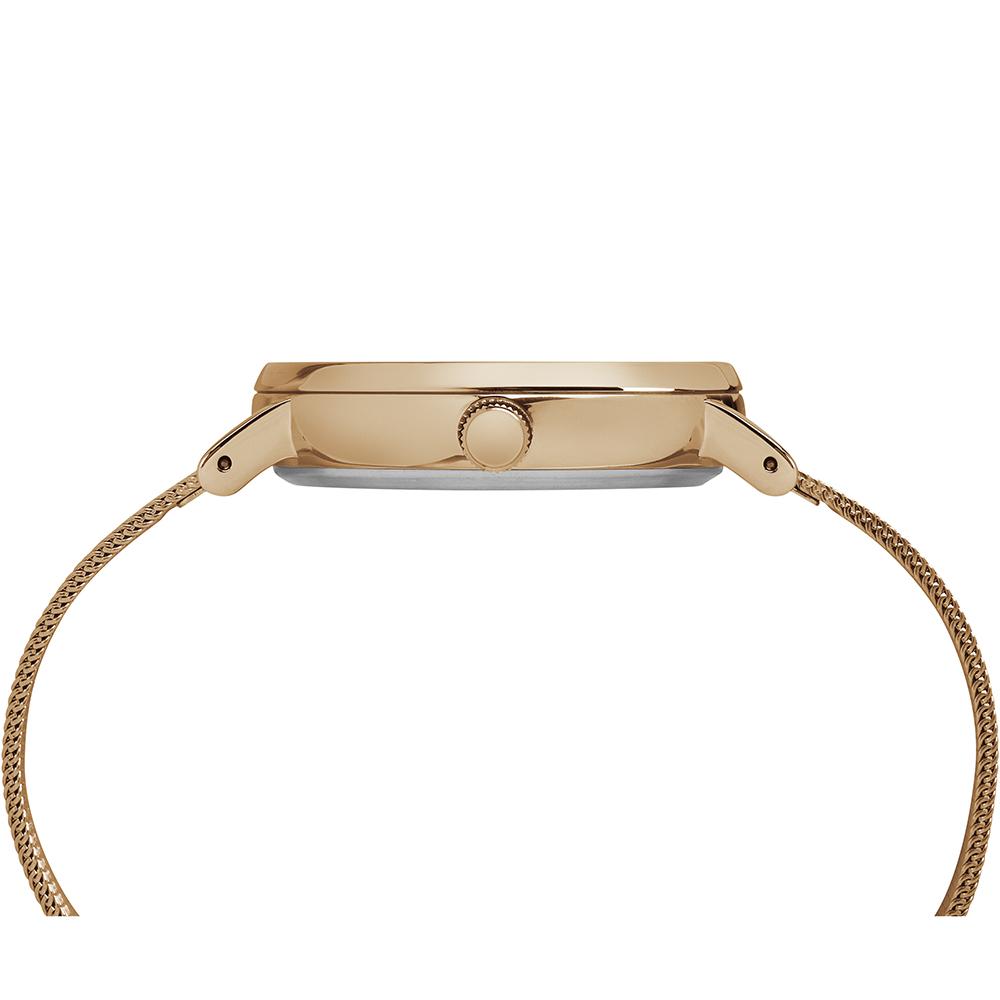 Timex TW2R26400 zegarek różowe złoto fashion/modowy Fairfield bransoleta