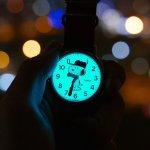 Timex TW2R41400 Timex x Peanuts Snoopy Weekender klasyczny zegarek srebrny