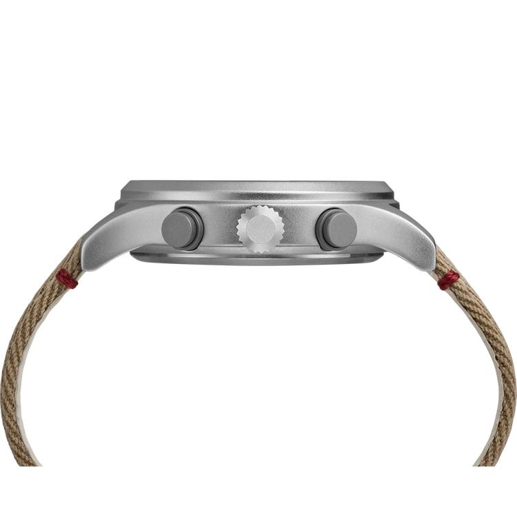 Timex TW2R60500 zegarek srebrny fashion/modowy Allied pasek