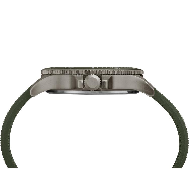 Timex TW2R60800 zegarek srebrny sportowy Allied pasek