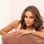 Timex TW2R66300 Crystal Bloom Fashion klasyczny zegarek złoty