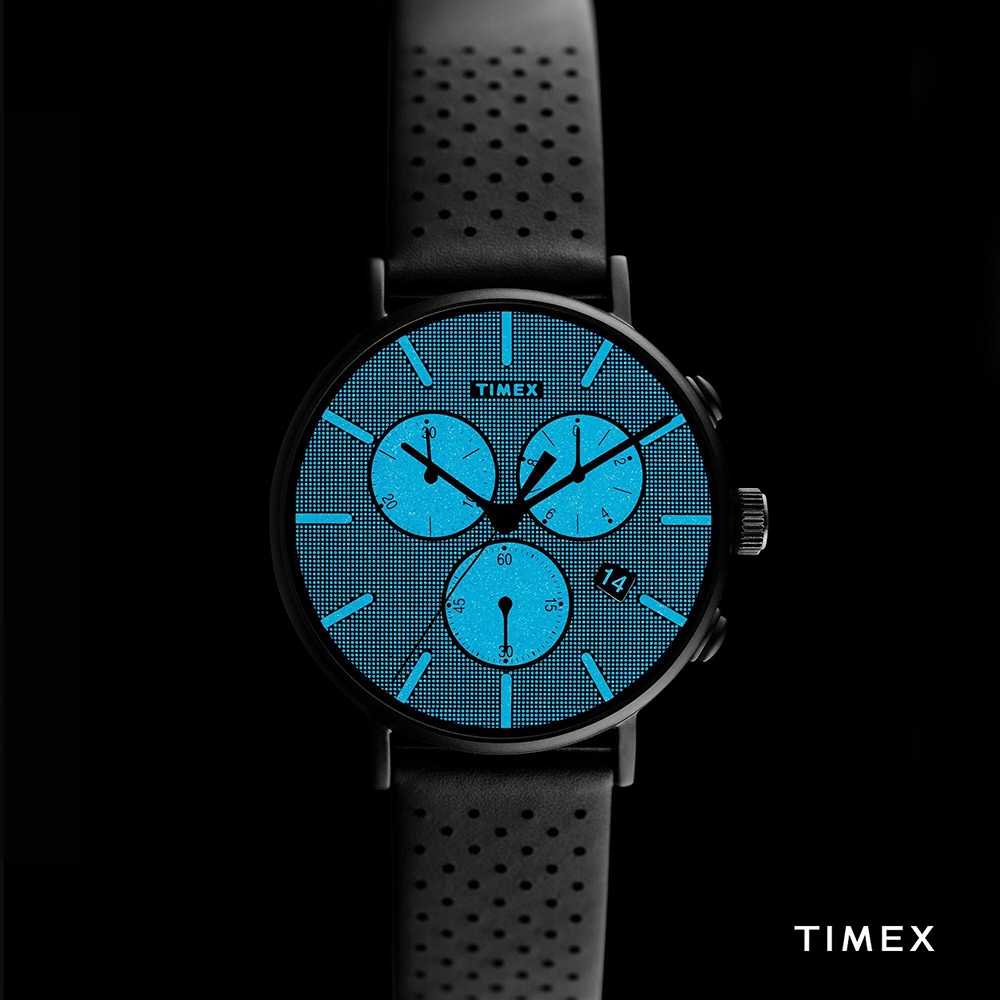 Timex TW2R79800 zegarek męski klasyczny Fairfield pasek