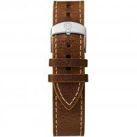 Timex TW4B04300 zegarek srebrny klasyczny Expedition pasek