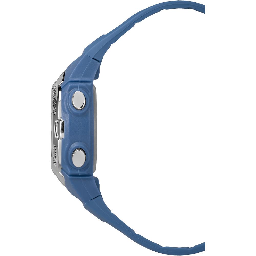 Timex TW5M14400 zegarek srebrny sportowy Marathon pasek