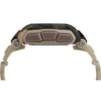 Timex TW5M20600 zegarek brązowy sportowy Command pasek