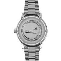 Aviator V.1.11.0.036.5 zegarek srebrny klasyczny Vintage Family bransoleta