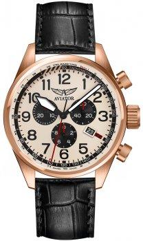 Aviator V.2.25.2.173.4 - zegarek męski
