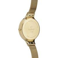 Obaku Denmark V173LXGGMG damski zegarek Slim bransoleta