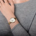 zegarek Obaku Denmark V173LXGGMG złoty Slim