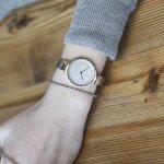 Obaku Denmark V173LXVJMJ zegarek damski fashion/modowy Slim bransoleta