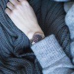 zegarek Obaku Denmark V173LXVNMN SKY - WALNUT Slim mineralne