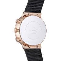 zegarek Obaku Denmark V180GCVBMB męski z chronograf Slim