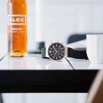Obaku Denmark V180GCVBMB Slim zegarek męski klasyczny mineralne