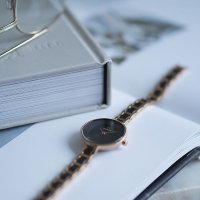 Zegarek Obaku Denmark VIND - COFFEE - damski  - duże 8