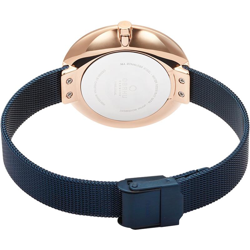 Obaku Denmark V185LXVLML zegarek damski fashion/modowy Slim bransoleta