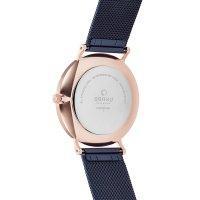 Obaku Denmark V197GXVLML1 męski zegarek Slim bransoleta